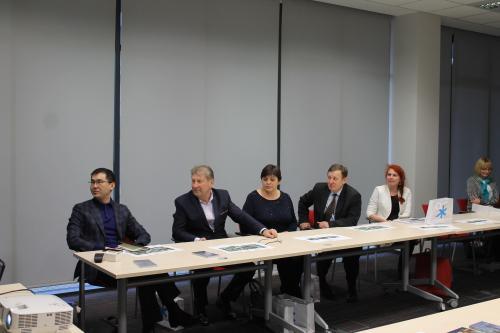 Uczestnicy spotkania w Urzędzie Miasta